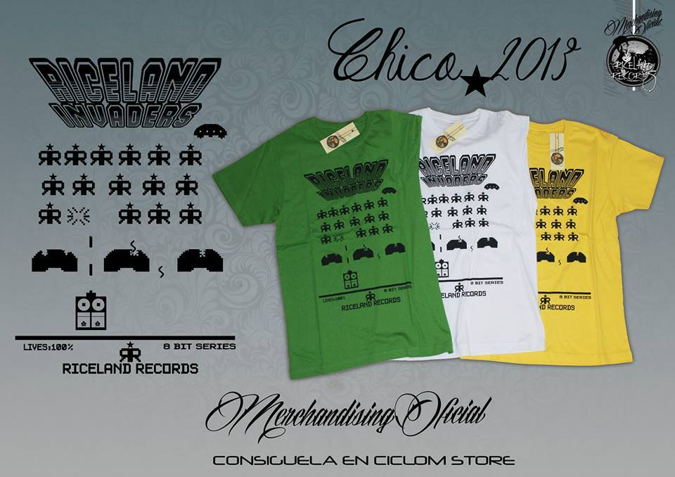 CAMISETA CHICO INVADERS